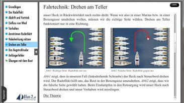Lektion: Hafenmanöver – Drehen am Teller