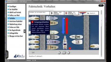 Lektion: Hafenmanöver – Vorhalten